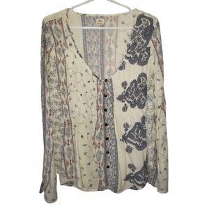 Vintage o neil gypsy blouse